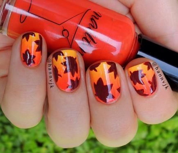 22 fall nail art designs - Fall Nail Art Designs