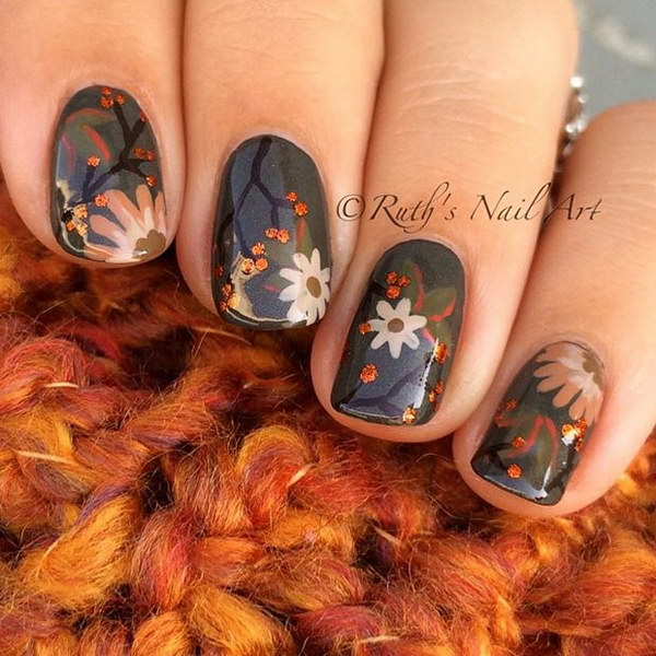 24 fall nail art designs - Fall Nail Art Designs