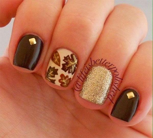 3 fall nail art designs - Fall Nail Art Designs