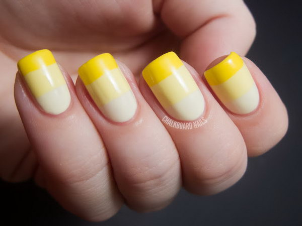 21 french tip nail designs - 60 Fashionable French Nail Art Designs And Tutorials