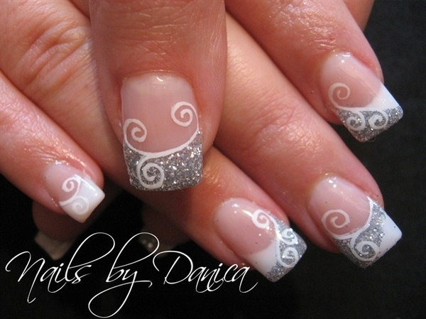 34 french tip nail designs - 60 Fashionable French Nail Art Designs And Tutorials