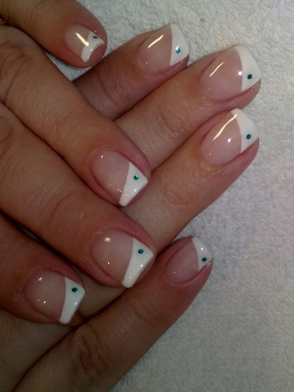 44 french tip nail designs - 60 Fashionable French Nail Art Designs And Tutorials