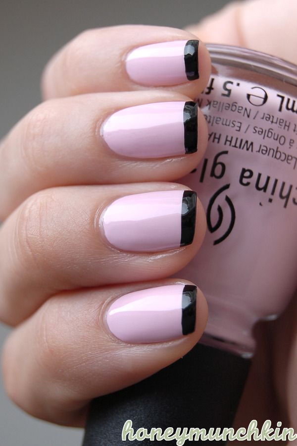 50 french tip nail designs - 60 Fashionable French Nail Art Designs And Tutorials
