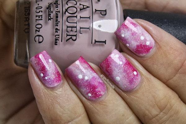 3 galaxy nail art - 50 Gorgeous Galaxy Nail Art Designs and Tutorials