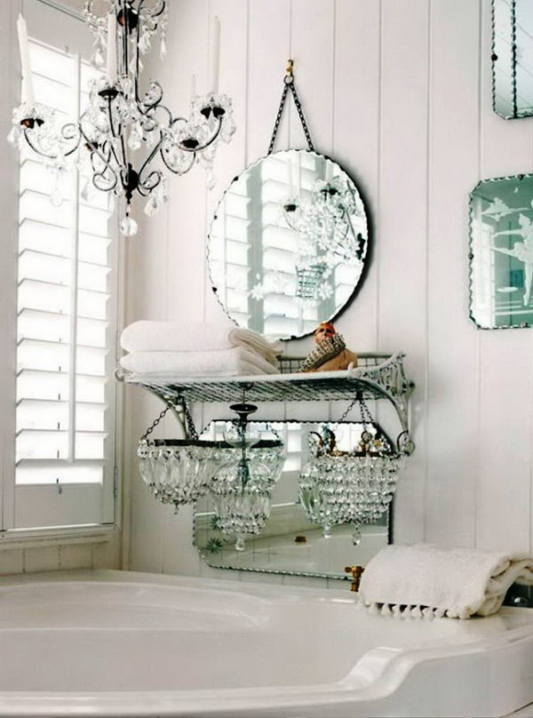 50 Amazing Shabby Chic Bathroom Ideas