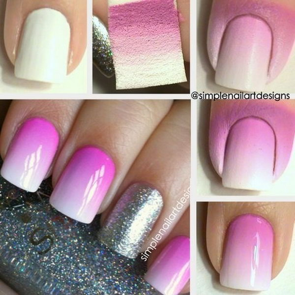2 step by step nail art tutorials - 20+ Easy and Fun Step by Step Nail Art Tutorials