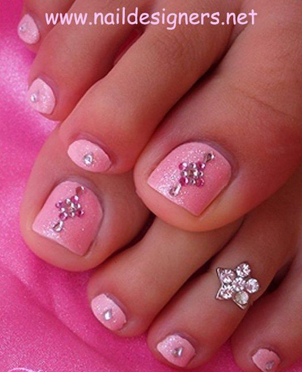 33 toe nail art designs - 60 Cute & Pretty Toe Nail Art Designs