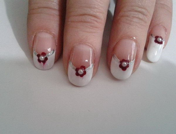 13 wedding nail art designs - 40+ Amazing Bridal Wedding Nail Art for Your Special Day