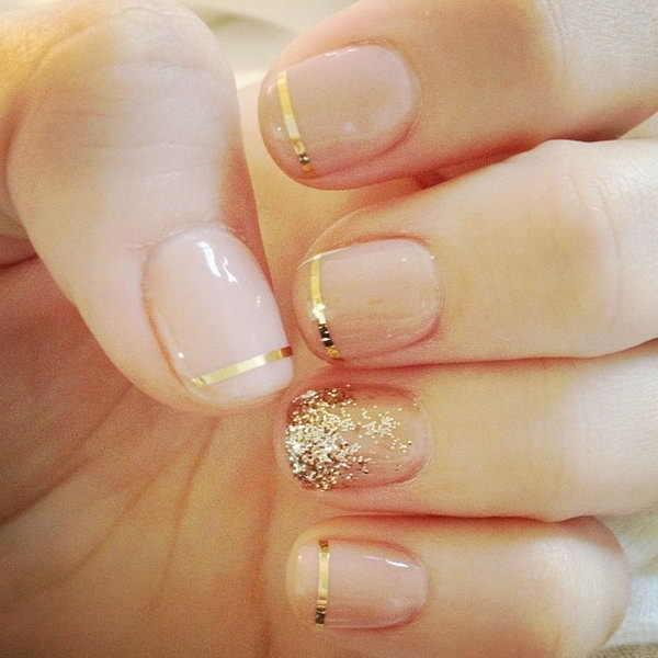 17 wedding nail art designs - 40+ Amazing Bridal Wedding Nail Art for Your Special Day