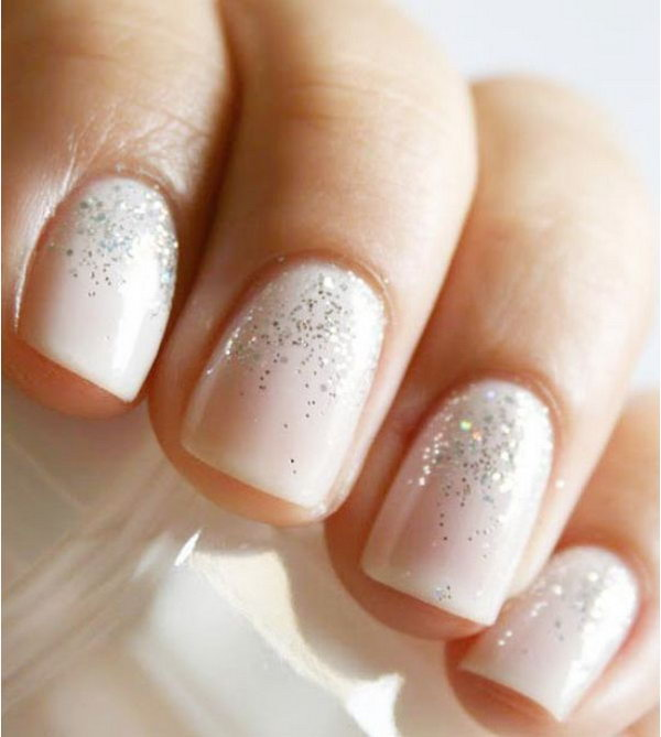 32 wedding nail art designs - 40+ Amazing Bridal Wedding Nail Art for Your Special Day