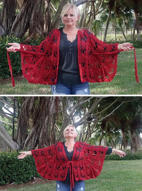 5 crochet women capes poncho ideas - 20 Crochet Women Capes and Poncho Ideas