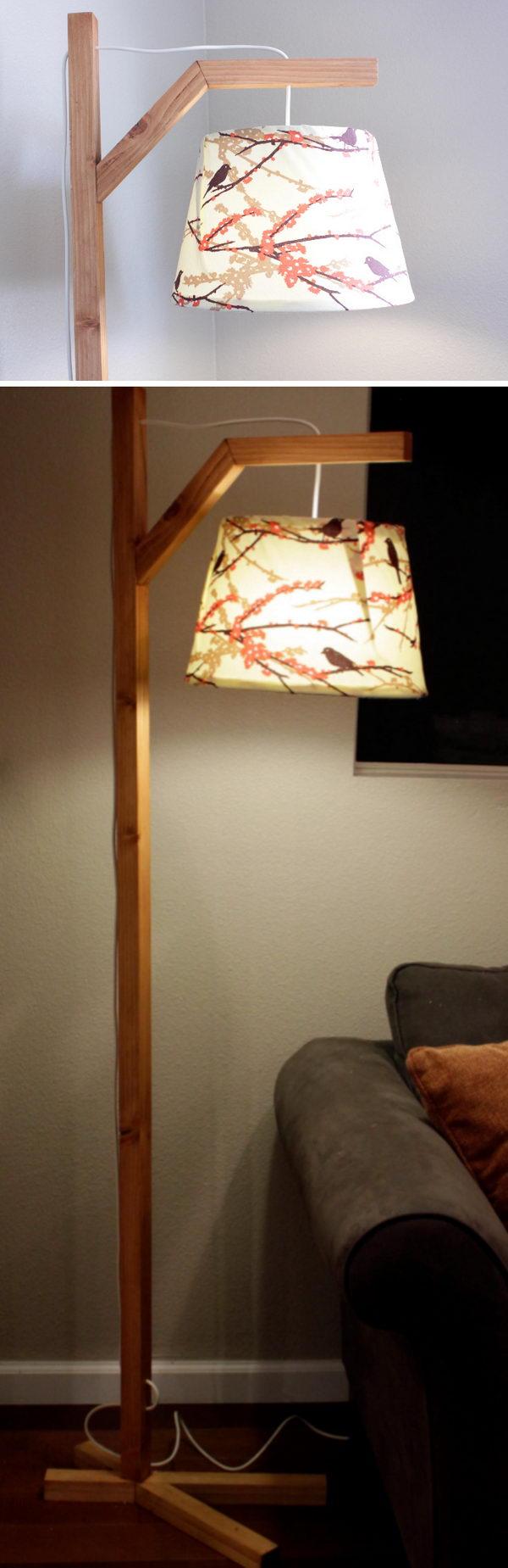 17 lamp ideas diy - 20 Easy DIY Lamp Ideas for Home Decor