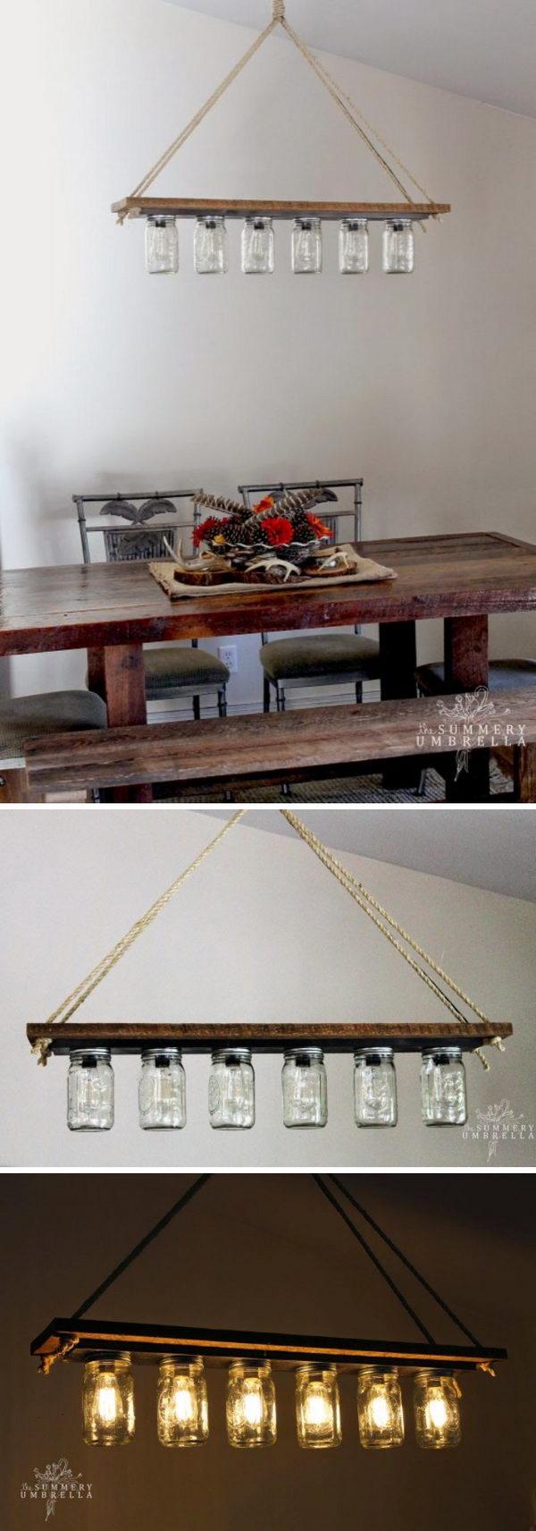 19 lamp ideas diy - 20 Easy DIY Lamp Ideas for Home Decor