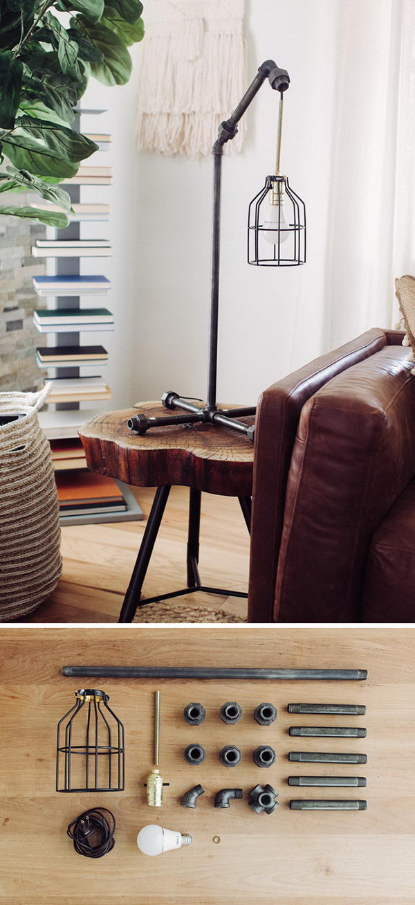 6 lamp ideas diy - 20 Easy DIY Lamp Ideas for Home Decor