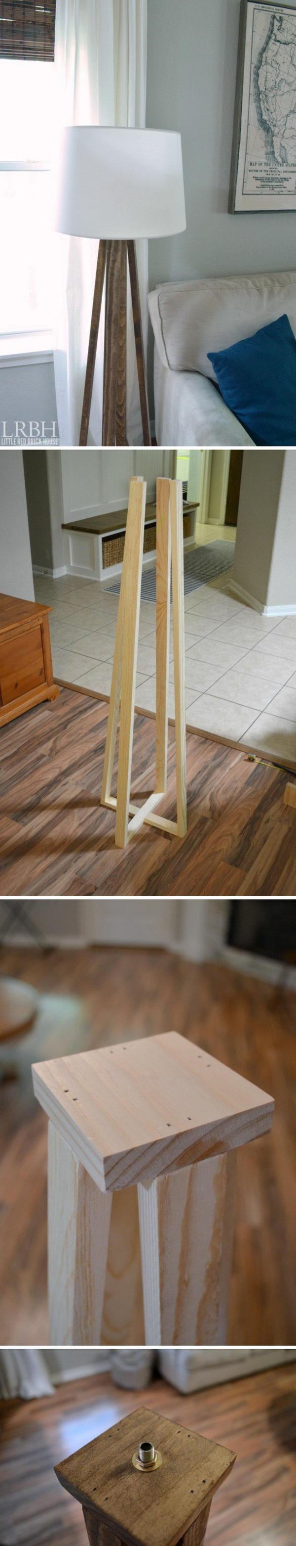 9 lamp ideas diy - 20 Easy DIY Lamp Ideas for Home Decor