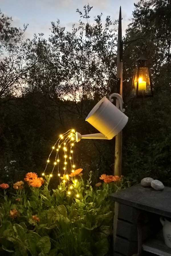 16 backyard lighting diy ideas - 20+ DIY Backyard Lighting Ideas