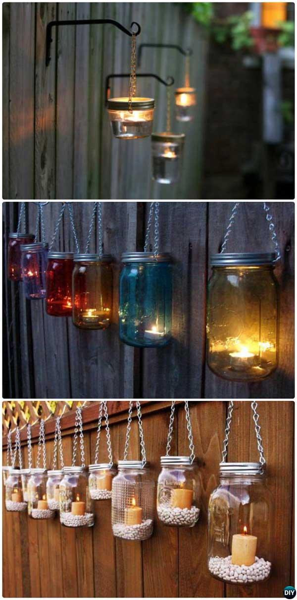 8 backyard lighting diy ideas - 20+ DIY Backyard Lighting Ideas
