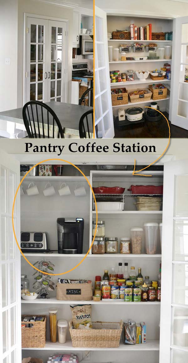 11 coffee station diy ideas tutorials - 15+ Cool DIY Coffee Station Ideas