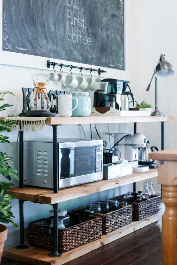 5 coffee station diy ideas tutorials - 15+ Cool DIY Coffee Station Ideas