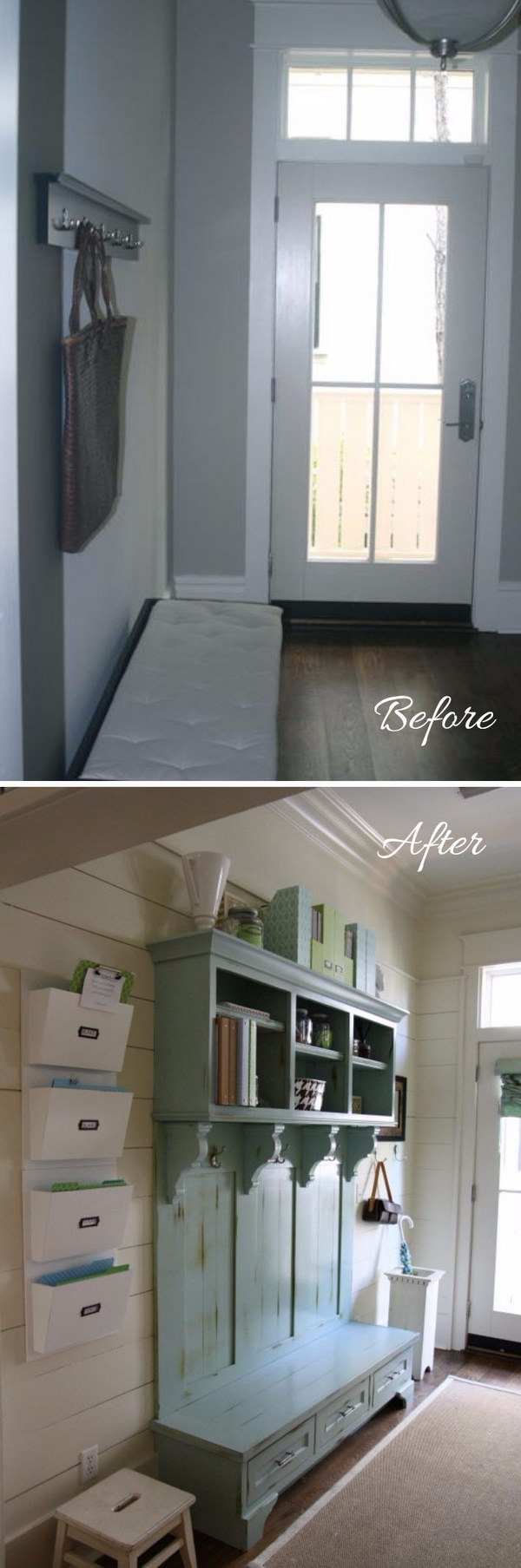 14 entryway makeover diy ideas tutorials - 30+ DIY Ideas to Give a Makeover to a Your Entryway