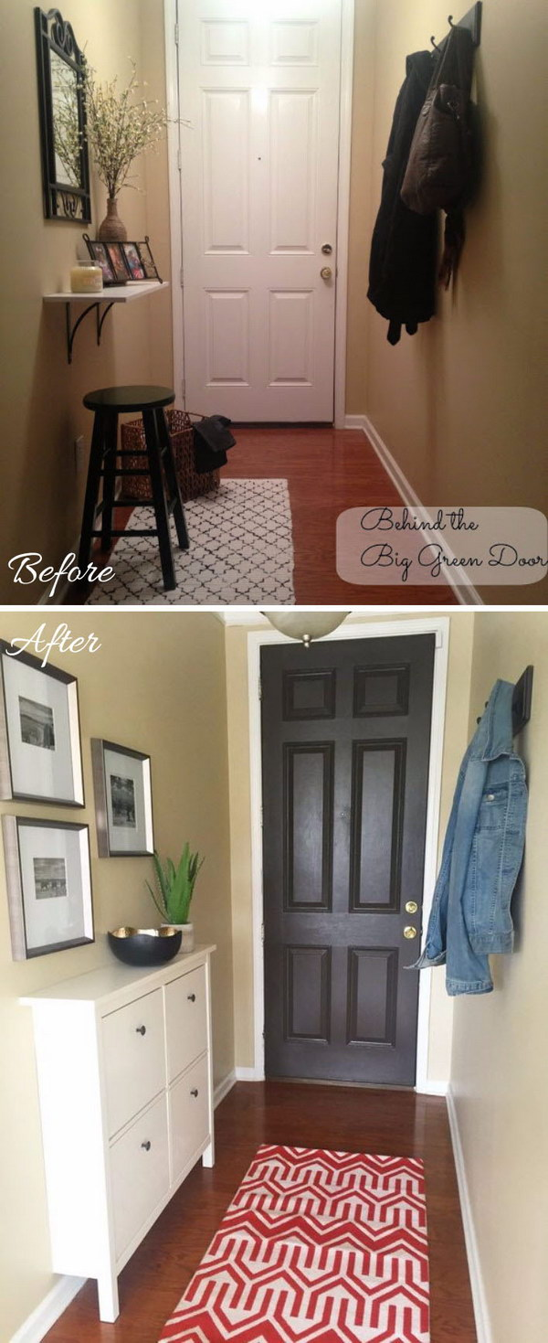 28 entryway makeover diy ideas tutorials - 30+ DIY Ideas to Give a Makeover to a Your Entryway