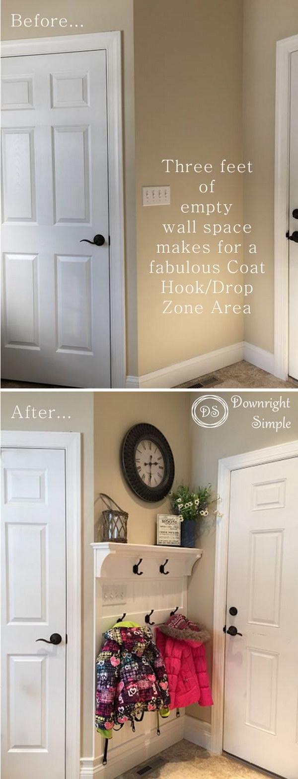 8 entryway makeover diy ideas tutorials - 30+ DIY Ideas to Give a Makeover to a Your Entryway