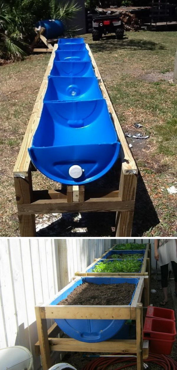 13 garden bed planter diy ideas - 20 Cool DIY Garden Bed and Planter Ideas