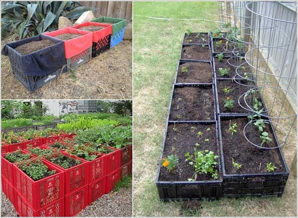 14 garden bed planter diy ideas - 20 Cool DIY Garden Bed and Planter Ideas