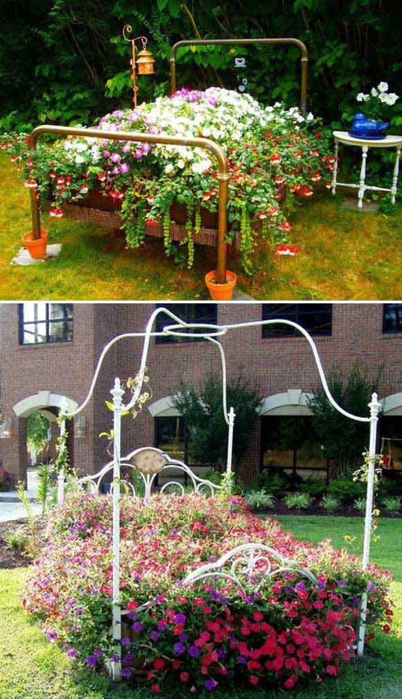 2 garden bed planter diy ideas - 20 Cool DIY Garden Bed and Planter Ideas