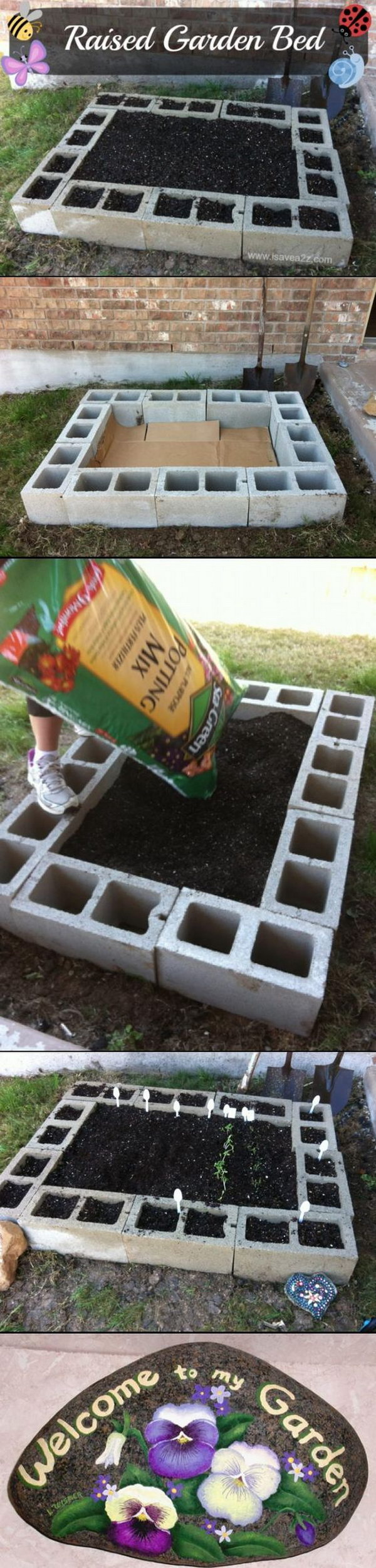 5 garden bed planter diy ideas - 20 Cool DIY Garden Bed and Planter Ideas