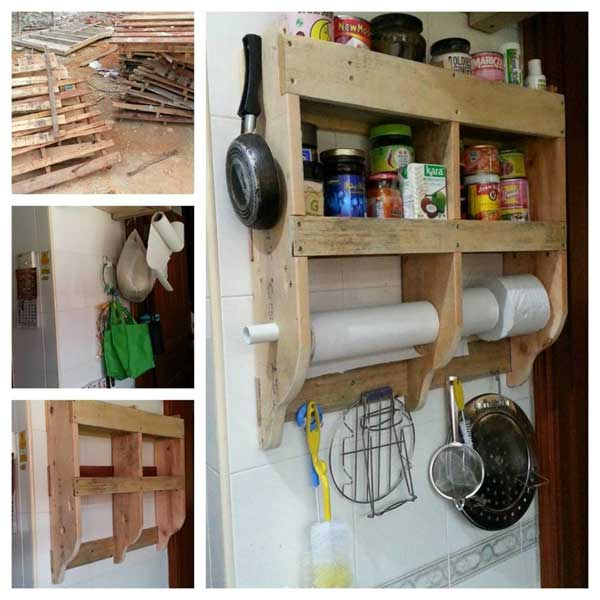 11 kitchen pallet diy ideas - 15+ Cool and Easy DIY Pallets Ideas for Your Kitchen