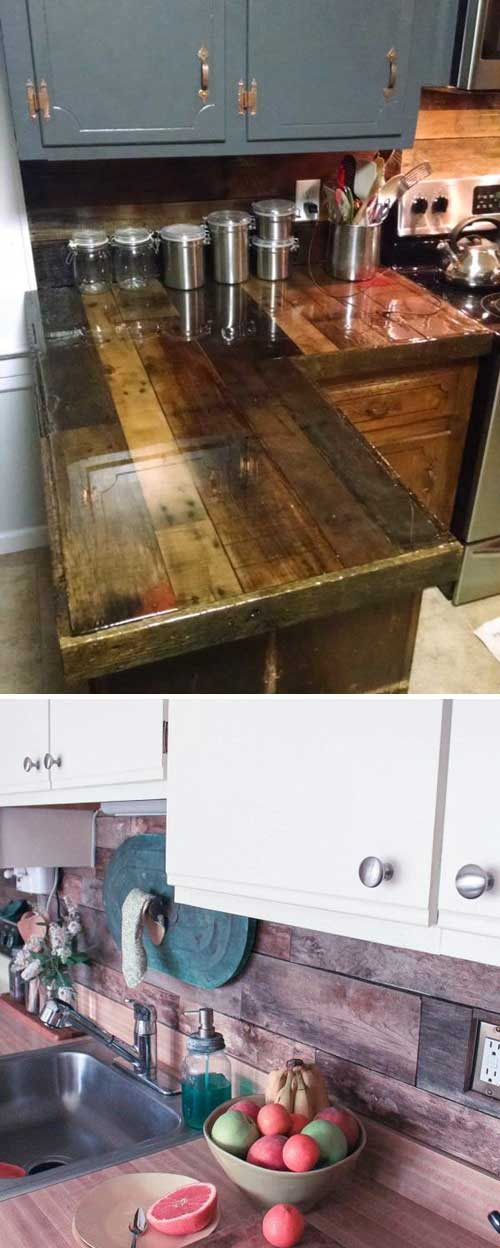 14 kitchen pallet diy ideas - 15+ Cool and Easy DIY Pallets Ideas for Your Kitchen