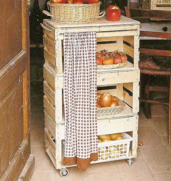 15 kitchen pallet diy ideas - 15+ Cool and Easy DIY Pallets Ideas for Your Kitchen