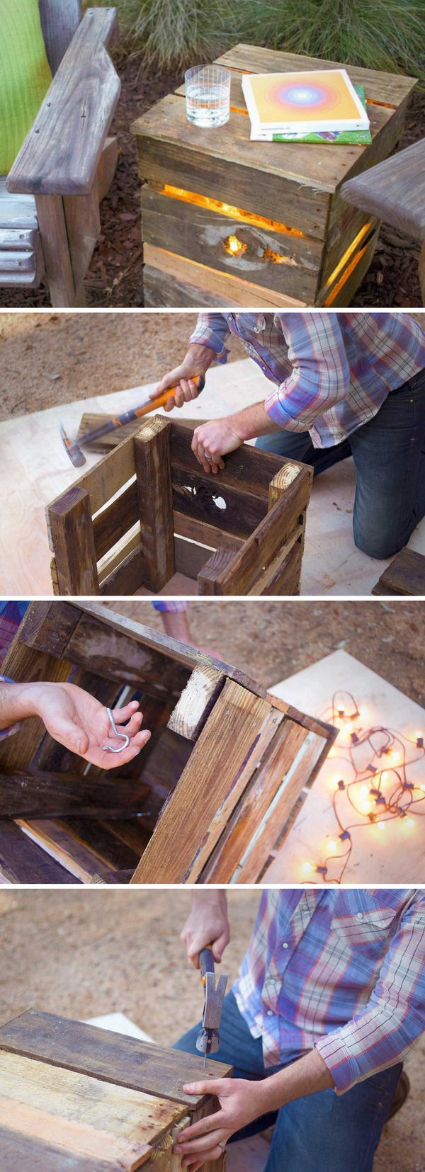 12 outdoor lighting diy ideas tutorials - 15 Easy DIY Outdoor Lighting Ideas