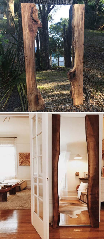 13 live edge wood decoration ideas - 20 Awesome Live Edge Wood Decoration Ideas