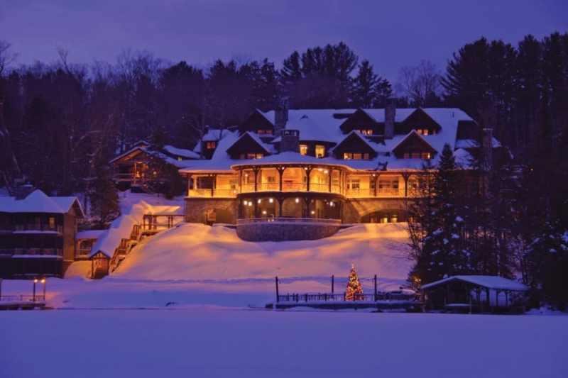 Photo: Gary Hall Photography // Lake Placid Lodge