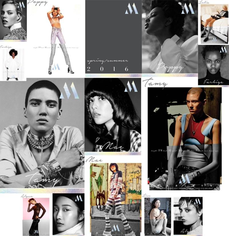 Marilyn Agency SS16 Model Show Package
