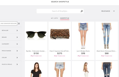 How to make money as a blogger: ShopStyle Collective