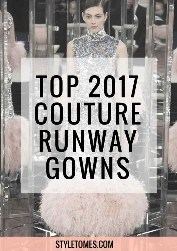 The End of Jovani Catalogs on The Runways? 2017 Haute Couture Gowns Are Next-Gen!