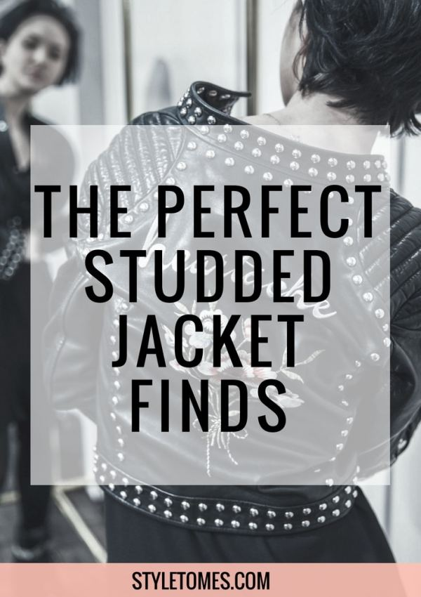 I Found My Perfect Studded Leather Jacket