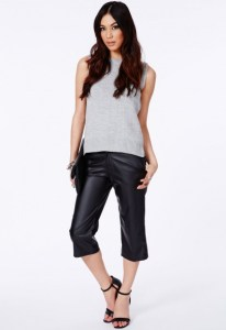 Leather culottes, now £10, Missguided.co.uk
