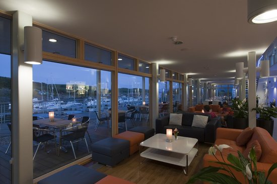 The Marina restaurant.