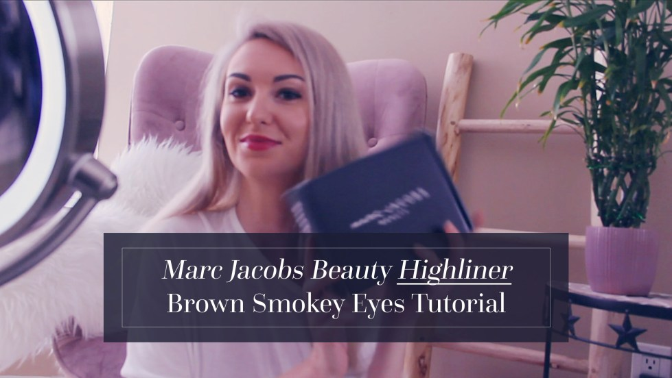 Marc Jacobs Highliner Gel Crayon Eyeliner Smokey Eyes Tutorial Influenster
