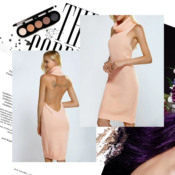 rosegal wishlist pink sweater dress Style Unsettled