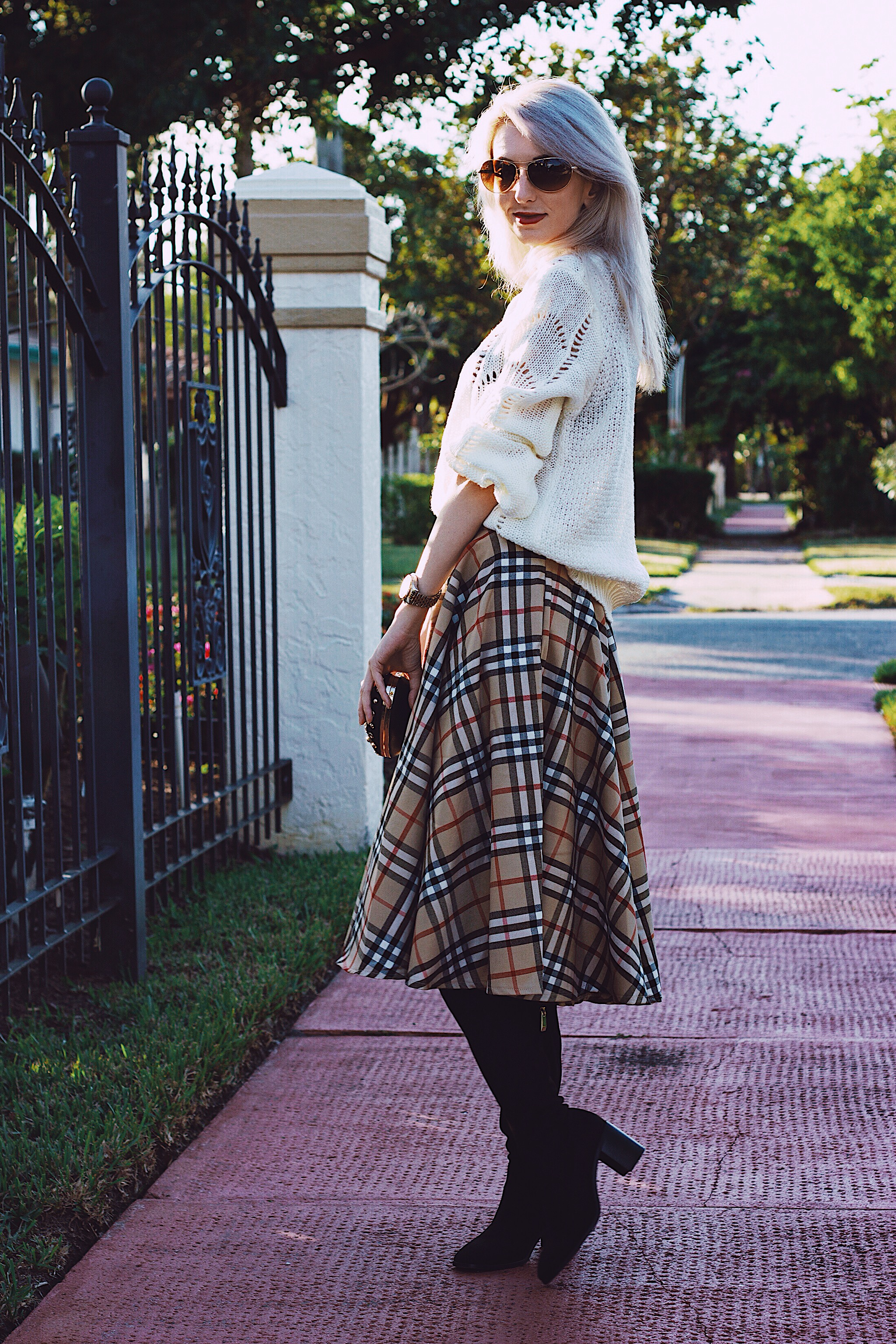 Fashion Fears Midi Skirt Style Unsettled