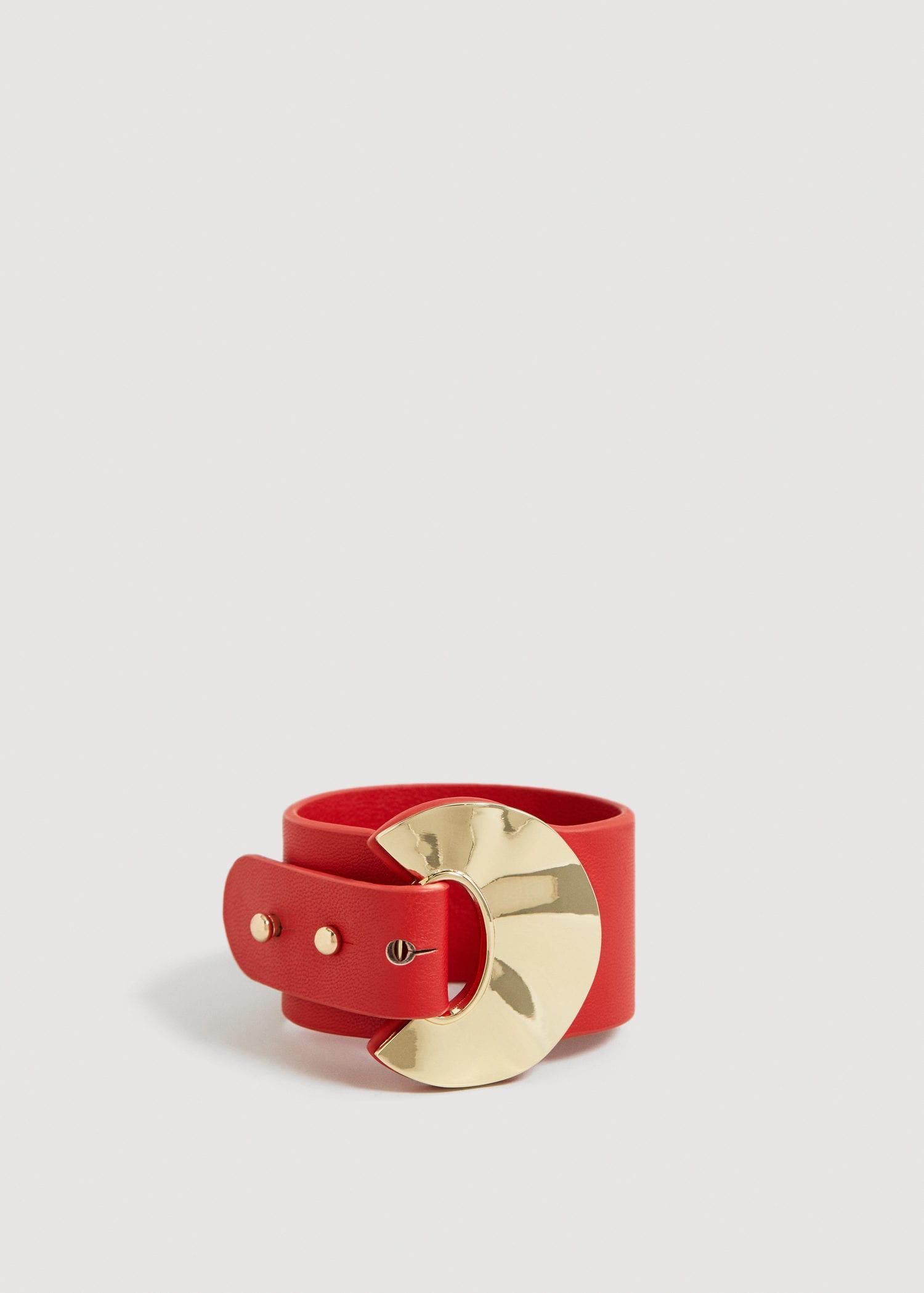 Mango Metal appliqué bracelet