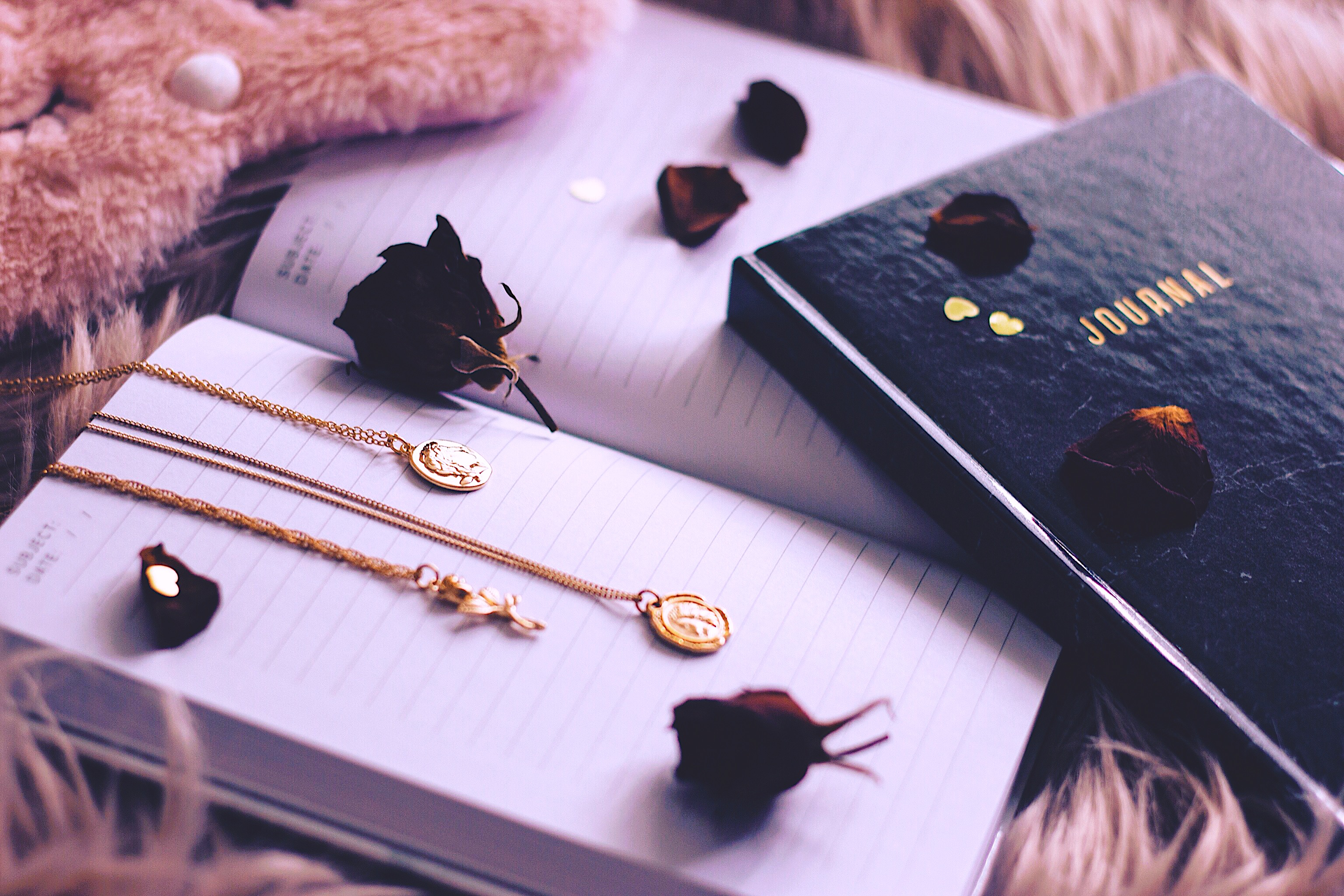 Nighttime routine journal Style Unsettled