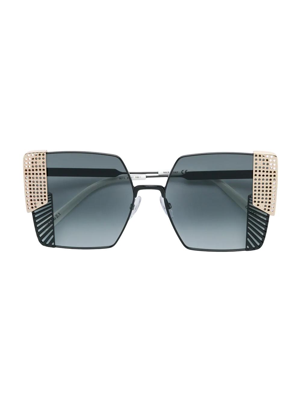 OXYDO oversized square sunglasses
