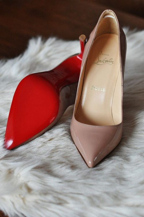 Nude Pumps by Christian Louboutin