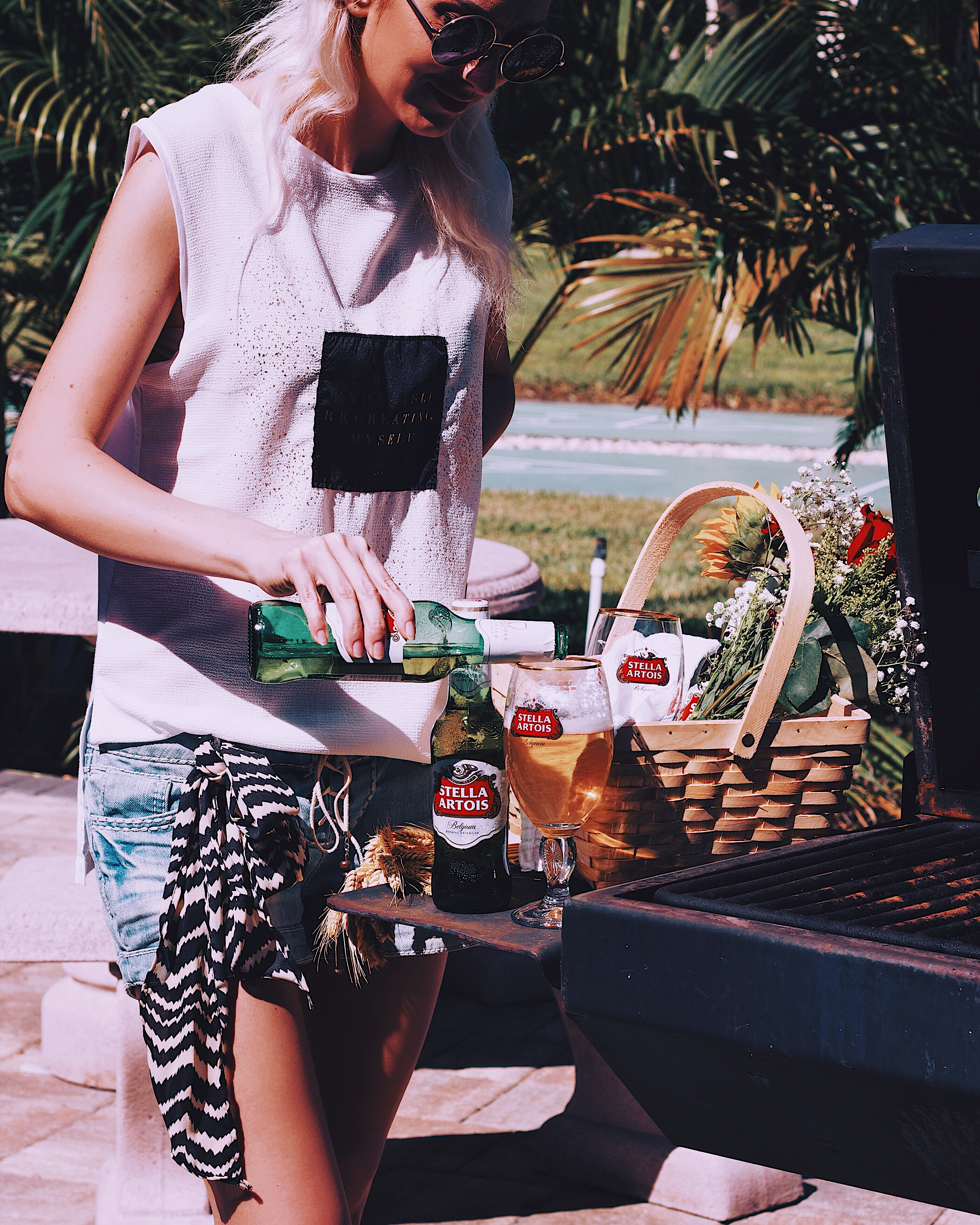 Cheers to the weekend with a cold glass of Stella Artois